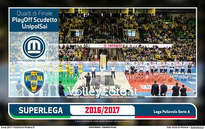 QF3 #SuperLega «Azimut Modena - Calzedonia Verona»