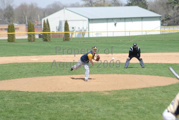 varsity baseball v. ottawa marquette at freeport . 4.26.14