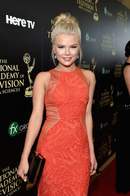 . Actress Kelli Goss attends The 41st Annual Daytime Emmy Awards at The Beverly Hilton Hotel on June 22, 2014 in Beverly Hills, California.  (Photo by Alberto E. Rodriguez/Getty Images for NATAS)