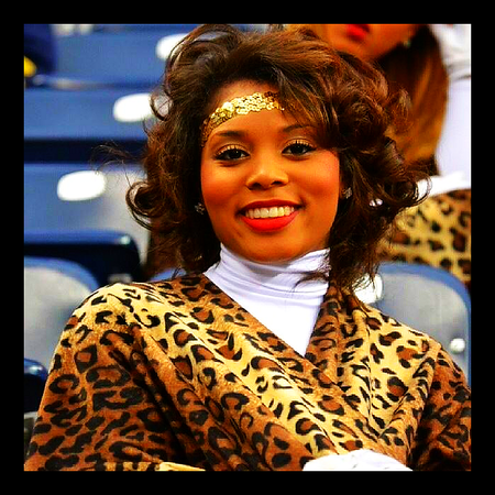 Congratulations APRIL ROLLINS 'James E. Stewart Sr.Torch Bearer Award' honoree.  Southern University Dancing Dolls Captain, 2013 - 2014 season.  Some attributes I can say that I possess is that I am a very caring and giving person. I have a comforting personality. I am a hard worker, when I am committed to something I do not give anything less than 100%. I am a loyal and dependable person. I am not a disrespectful person I am ambitious and though I am a dreamer I am realistic.