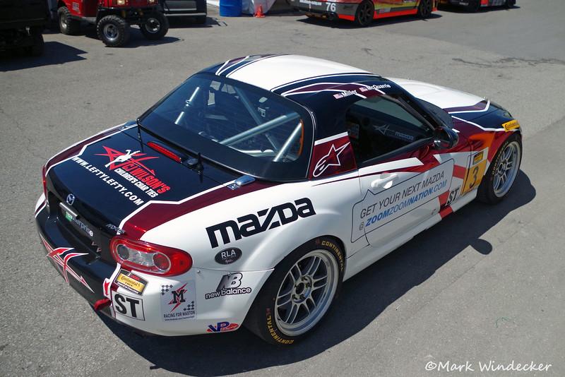 ST CJ Wilson Racing Mazda MX-5