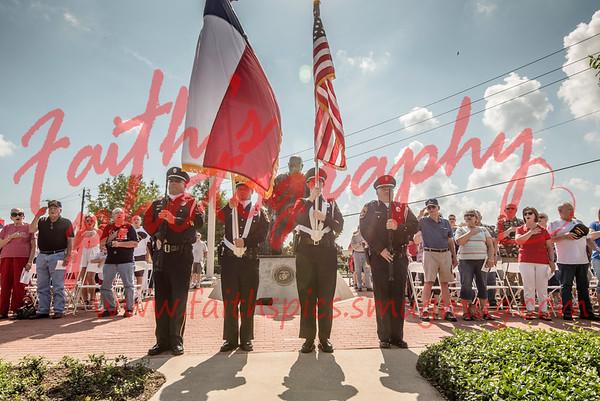 Van Zandt Veterans Memorial 2018 events