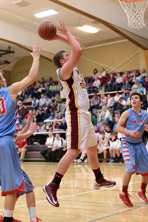 WSSH v. Marsh Valley Boys Basketball 2014