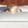 1.86ct Rustic Rose Cut Diamond Bezel Ring 9