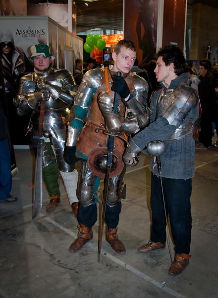 Knights at Igromir 2009