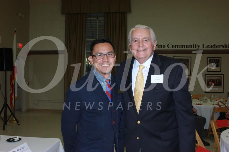 Bong Brigas and Jim Angelos
