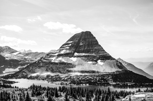 Montana in Black and White