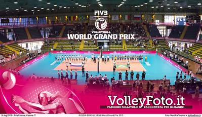 RUSSIA - BRASILE | FIVB World Grand Prix 2015