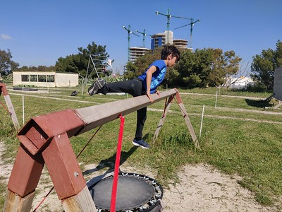 Obstacle Course Academy Activity
