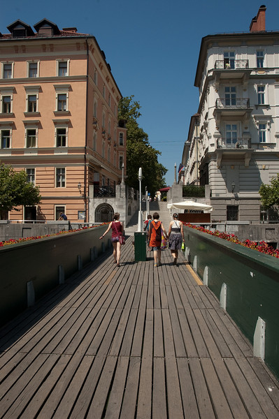 Friday morning and noon in Ljubljana