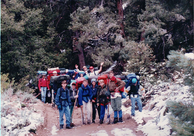 1994 - Mt. Pinos Hike Part II