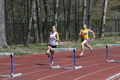 Men's and Women's 400 Meter Hurdles - 2012 Northwood University T&F Invite
