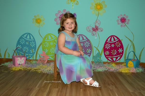 Gracie, Jaxtin, & Ava's Easter pics/Delores