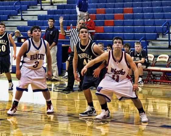 WHS Basketball Vs. Norwell 12/03/10 Stylized