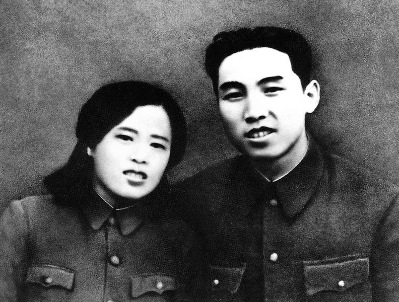 . In this undated photo from North Korea\'s official Korean Central News Agency, distributed by Korea News Service, leader Kim Il Sung and Miss Kim Jong Suk during the period of anti-Japanese armed struggle. (Korean Central News Agency/Korea News Service via AP Images)