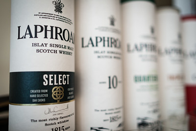 September 19, 2016 - Laphroaig Dinner with John Campbell