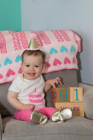 Rileys' First Birthday