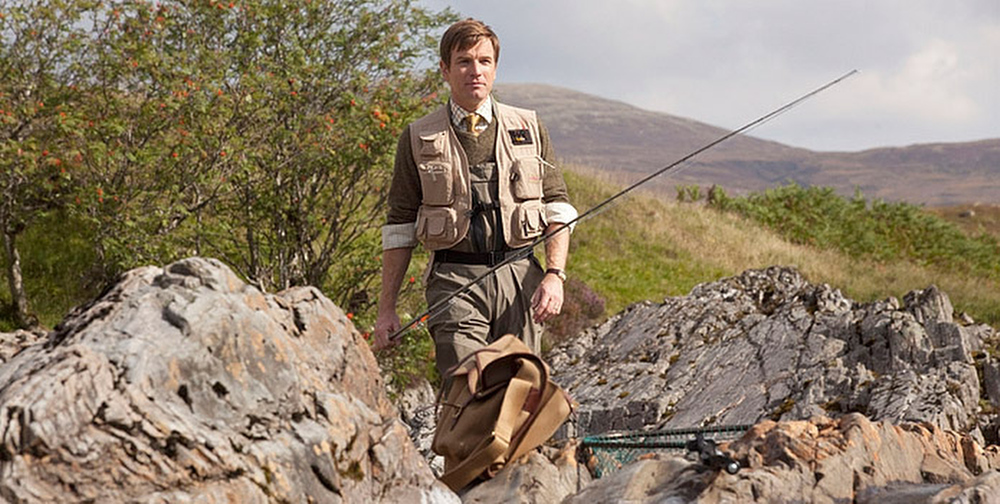 ". This image released by CBS Films shows Ewan McGregor in a scene from the film, ""Salmon Fishing in the Yemen.\"" The film was nominated for a Golden Globe for best comedy or musical, Thursday, Dec. 13, 2012. McGregor was nominated for best actor in the film. The 70th annual Golden Globe Awards will be held on Jan. 13. (AP Photo/CBS Films)"