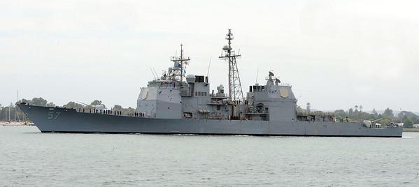 USS Lake Champlain CG-57