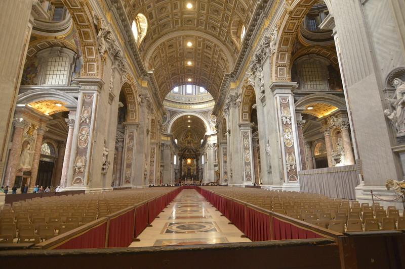 St Peter's Basillica and Vatican City