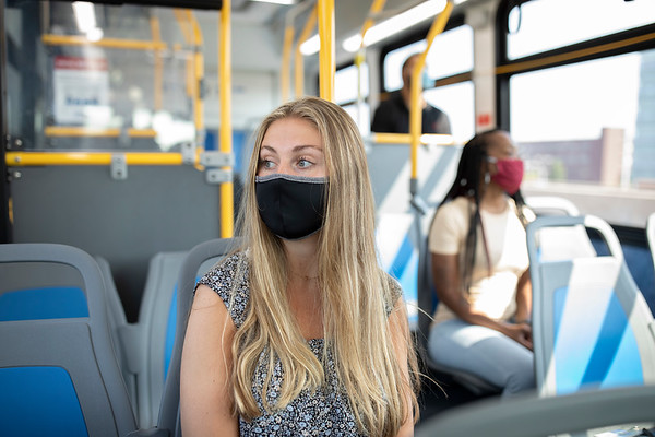 Metro Riders with Masks, etc