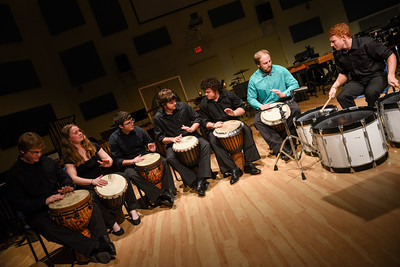 Percussion Ensemble Concert Fall 2016