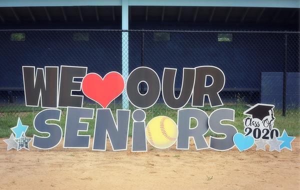 West Morris Central Varsity Softball Senior Night 2020