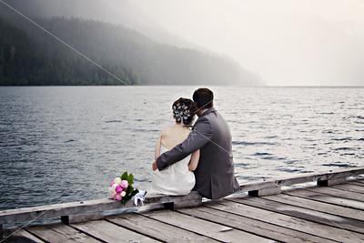 Katie & Travis • Lake Crescent Lodge Wedding