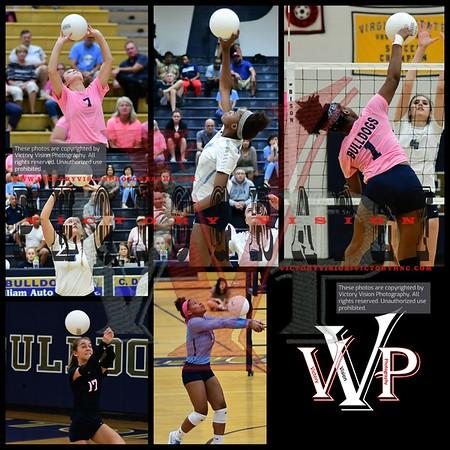 Colgan @ C.D. Hylton Varsity Girls Volleyball 10-4-18