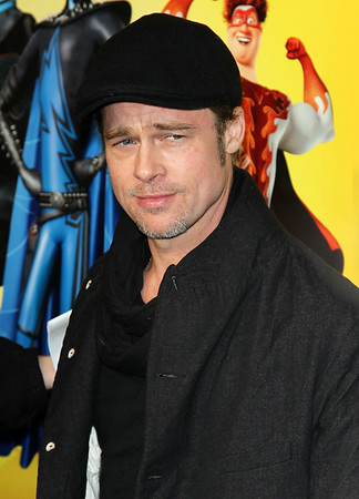 2010-11-03 - Brad Pitt at Megaminds Premiere