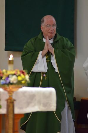 Father Paul Wharton First Sunday Mass