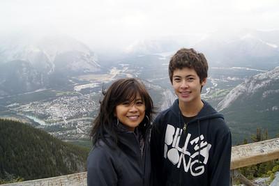 Calgary and Banff