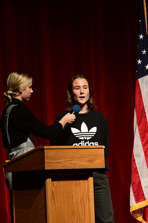 Veteran's Day Assembly-HS