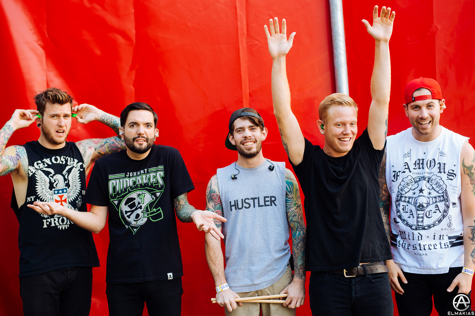 A Day To Remember at Sziget Festival!