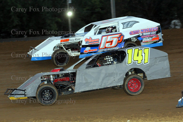 September 1, 2018 - Sprints and UMP Modifieds