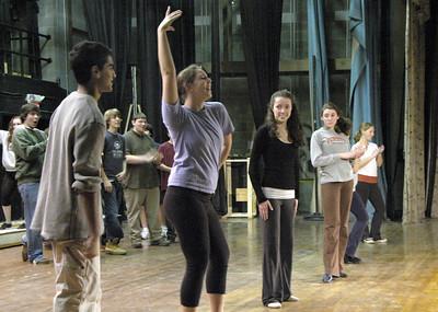 Miss Saigon: Rehearsals