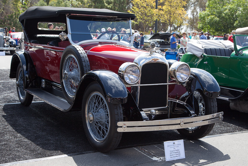 1923 Duesenberg Model A Touring - Gregory Vanley