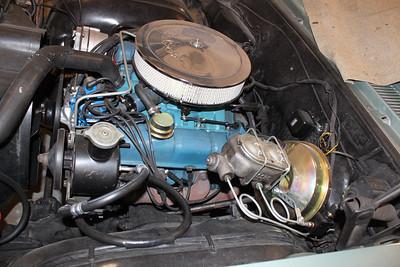 Biquette's original 300 cid engine