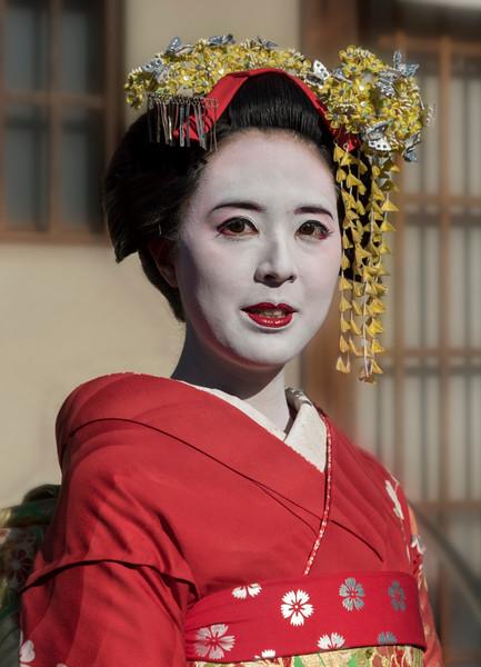 Geisha (Geiko), Kyoto