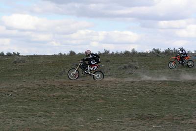 2009 Desert 100 Kids Race #1 - Start of the Race - Misc Bikes