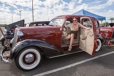 Vintage Vixens at WEMAR Veterans Car Show