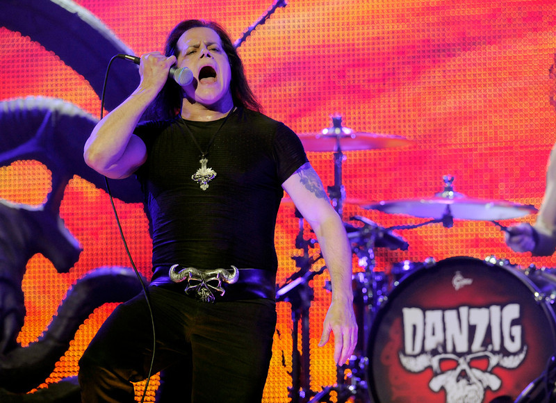 . Danzig performs at the 2013 Revolver Golden Gods Award Show at Club Nokia on Thursday, May 2, 2013 in Los Angeles. (Photo by Chris Pizzello/Invision/AP)