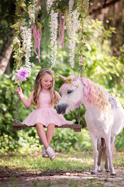 Unicorn photo session July 2018 - Foss