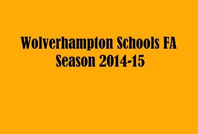 SCHOOL FOOTBALL 2014/15
