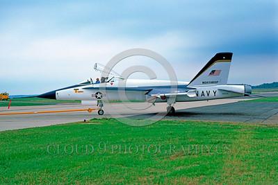 U.S. Navy F-17 Hornet Airplanes in Bicentennial Color Scheme