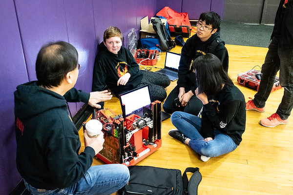 20190223 Flaming Phoenix FTC @ the Patton STEM Event