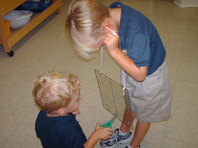 PreK Experimenting with Sound (2011-2012)