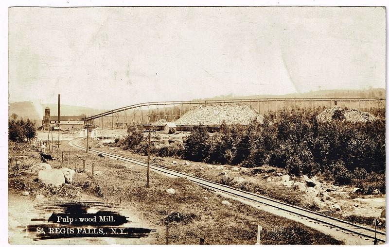 Pulp -Wood Mill-St.Regis Falls,N.Y.