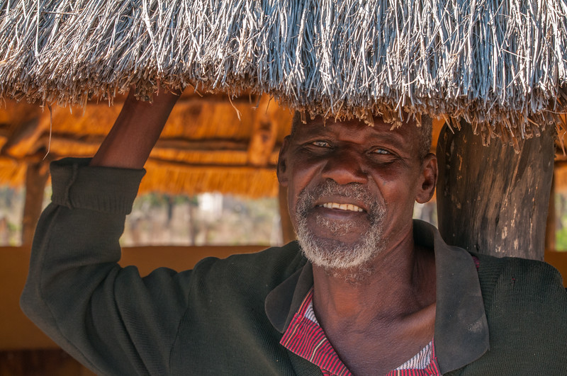 Phillip, Patriarch of Hwange Viliage, Zimbabwe