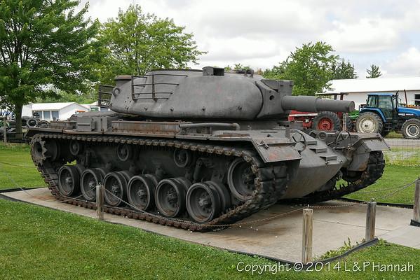 AMVETS Post 73 - Armada, MI - M48 with XM66D Turret